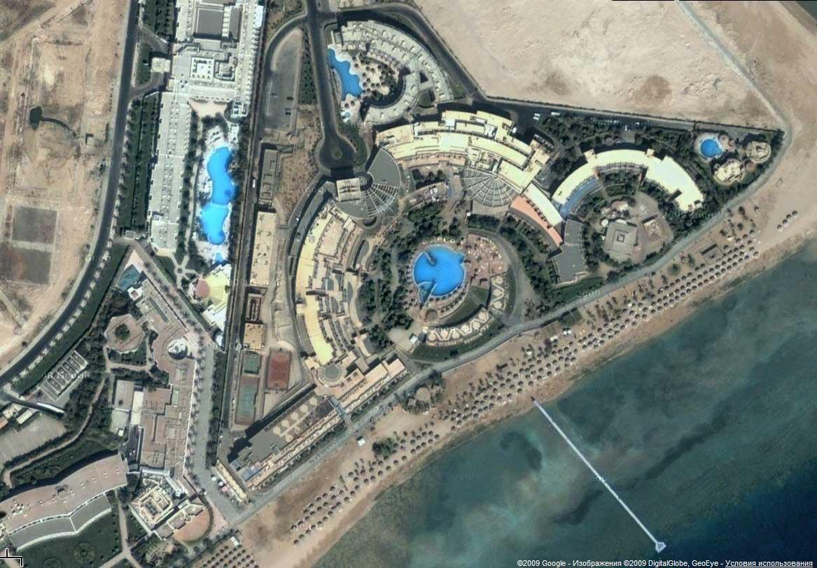 Шарм-Эль-Шейх Карта Гугл