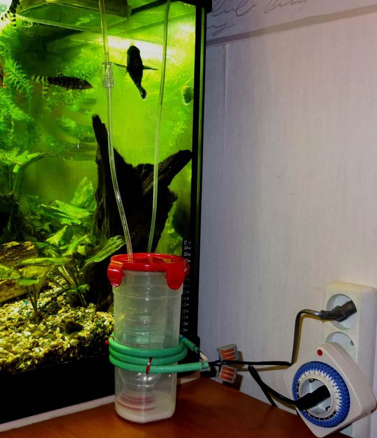 Как сделать нагреватель для воды в аквариуме